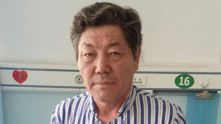 从新疆教育营获释的努尔兰.库合都伯。(当事人提供/记者乔龙)