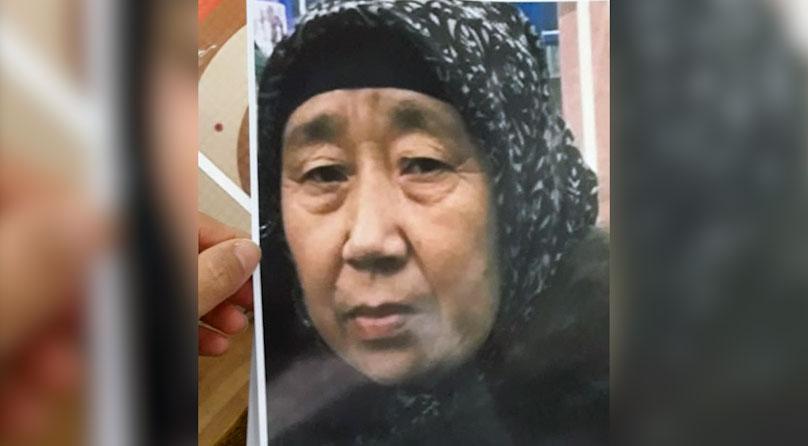 海尔勒斯.木哈买提江今年获释后,被禁止出境。(家属提供)