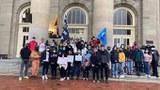 康奈尔大学学生集会 声援维吾尔人反对种族灭绝