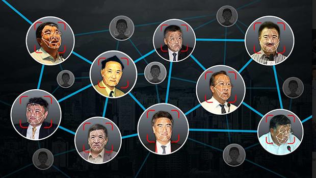 """上海公安的""""恐怖分子嫌疑人""""名單上的部分維吾爾人"""