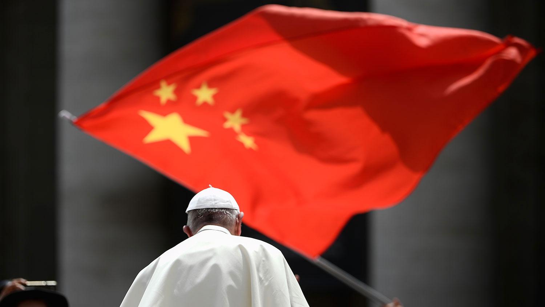 """陈日君枢机 : 梵蒂冈任命亲中香港主教会带来""""世纪灾难""""。(法新社资料图片)"""