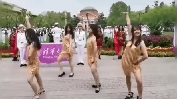 清华热舞饱受批评    校友: 不应苛责学生