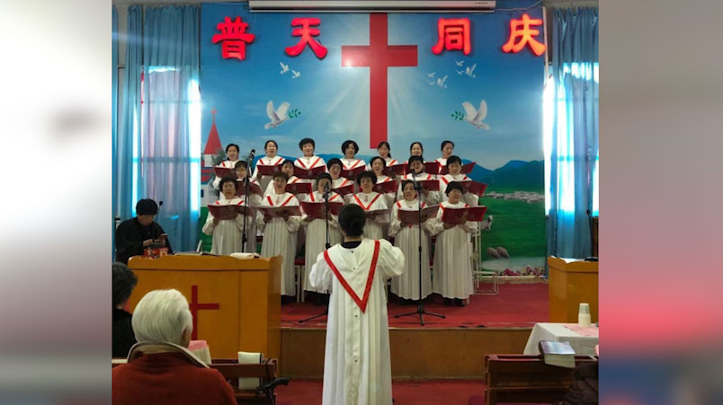 青海省西宁市东湖教会(志愿者提供)