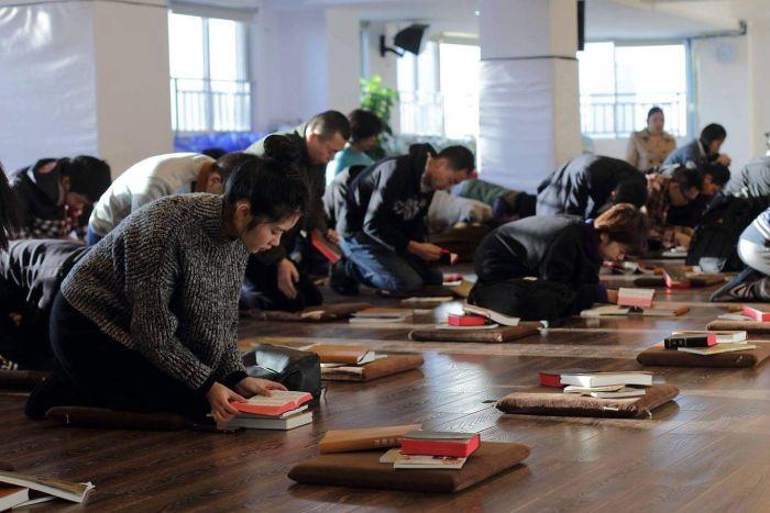 """自两年前中国大陆修订《宗教事务条例》后,""""秋雨圣约""""一直被当局视为眼中钉。(脸书资料图片)"""