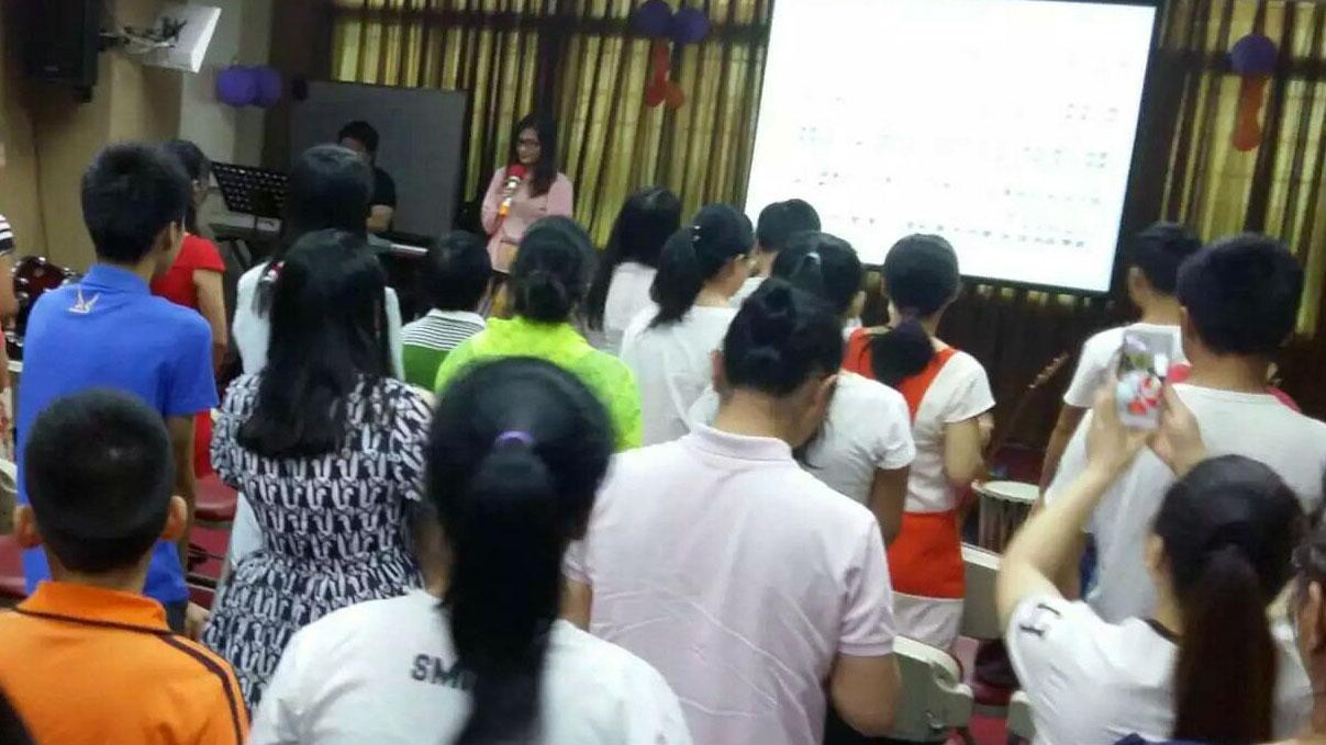 广福教会信徒聚会(对华援助协会)