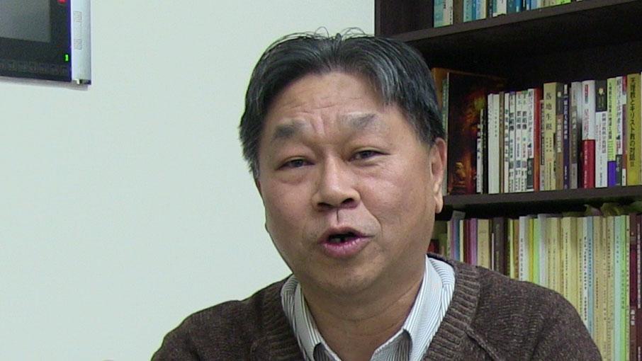 台湾真理大学教授张家麟(RFA/资料照)