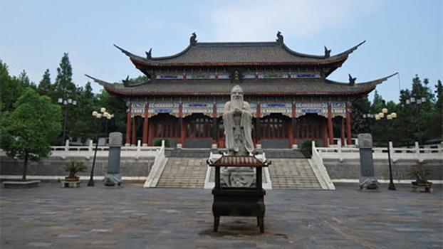 山东曲阜孔庙(Public Domain)