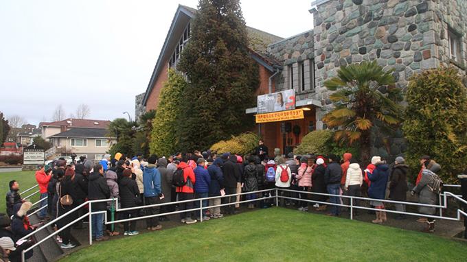 信友堂每年都为中国教徒祈祷  (信友堂提供)