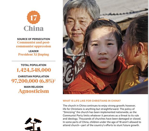 《2021年国际观察名单》关于中国的报告内容。(来自《2021年国际观察名单》)