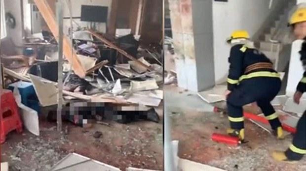 广州明经村爆炸案:村委会遇袭 村支书伤势严重