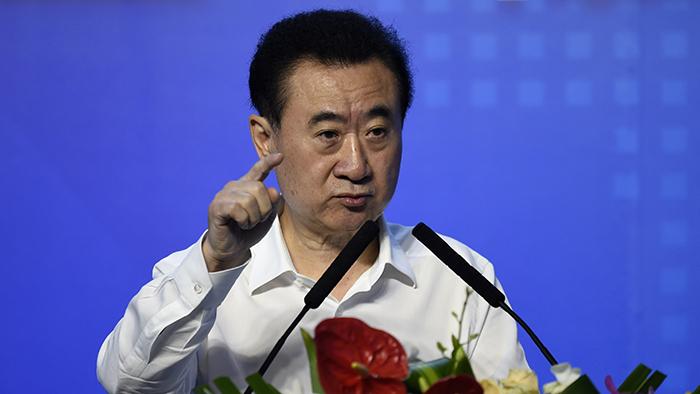 中国富商王建林(法新社)