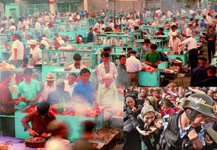 图片:当局担心再次爆发维汉民族冲突(记者乔龙提供)