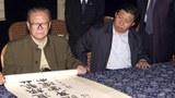 圖片:江澤民退休後,有一段時間長在浙江逗留,而習近平時任中共浙江省委書記。(志願者提供)