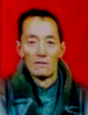 图片:10月23日自焚身亡的甘肃省甘南州夏河县九甲乡藏人多吉仁青。(夏河境内受访人提供)