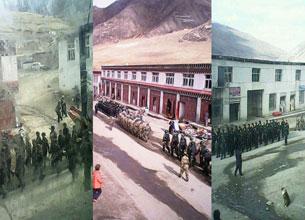 图片:四川甘孜州石渠县温波境内被军管场景。(印南受访人提供)