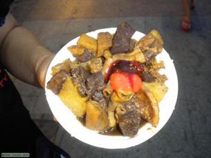 图片:广州经典街头小吃萝卜牛杂也要让位亚运会(丁小提供)