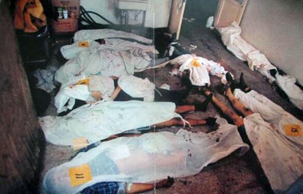 1989年6月4日,平民伤亡 。(六四档案图)