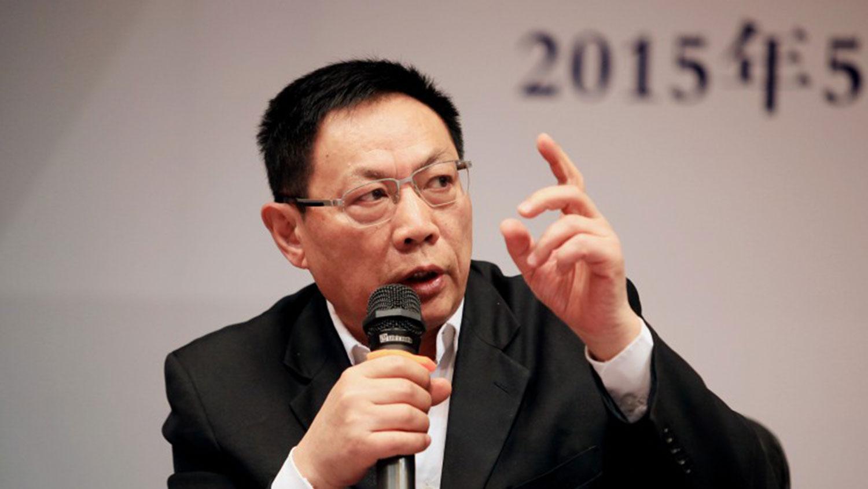 資料圖片:中國大型國企遠華集團前董事長任志強。(圖/推特)
