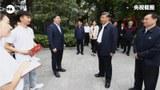 習近平週三到河南南陽考察調研,旁邊的中央級官員換上了另一名副總理胡春華