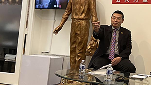 美国人权组织公民力量创办人杨建利(记者王允摄影)