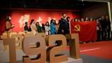 中共一直警惕苏共的前例。图为北京民众纪念党庆百年。