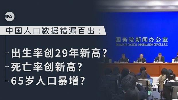 中国人口数据错漏百出引广泛质疑