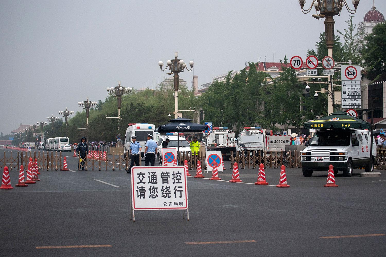 中共迎建政70周年阅兵 北京启动10.1安保模式