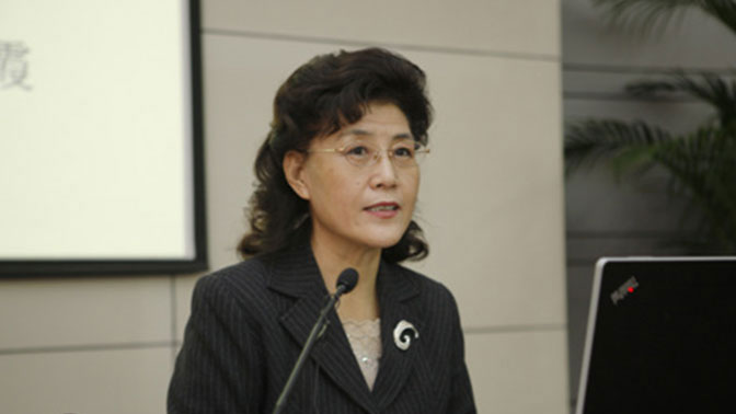 中共中央党校前教授蔡霞(网络图片)