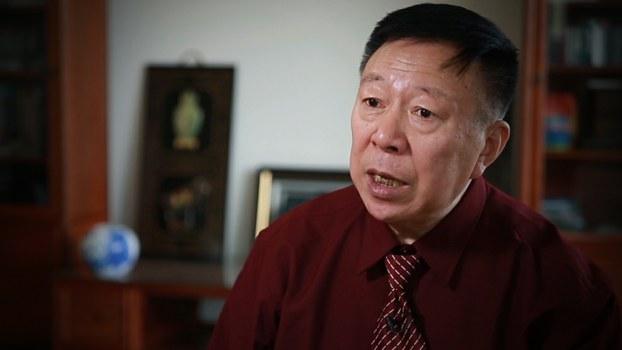 原中国人民大学社会学教授周孝正(视频截图)