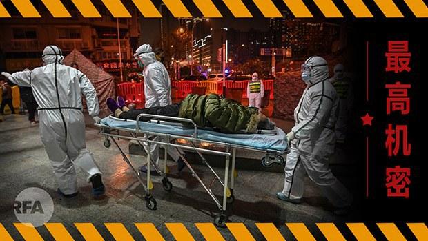 中国疫情实况再引关注 媒体揭露当局操控信息(自由亚洲电台制图)