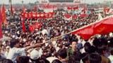 1989年5月18日的天安門廣場。(六四檔案圖)