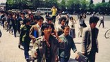 1989年5月2日高自聯遞交請願書 。(六四檔案圖)