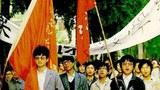 1989年4月23日,北師大學生罷課。(六四檔案圖)
