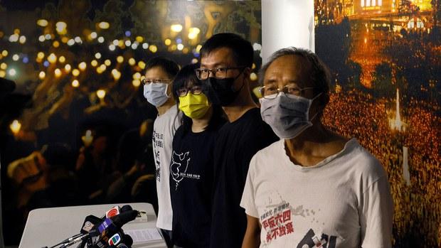 支联会引领香港政坛32年 元老面对现实支持解散