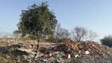2021年1月29日,安徽霍山农民吴怀云重返洛阳河村圩子队,拍下了满地的瓦砾。