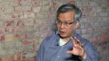 前聯合報記者孫揚明採訪八九民運,描述當時經過。(李宗翰拍攝)