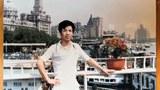 1987年夏唐祖捷於上海外灘留影(Public Domain)