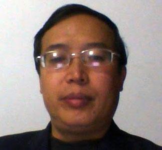 八九学运领袖之一王德邦(维权网)