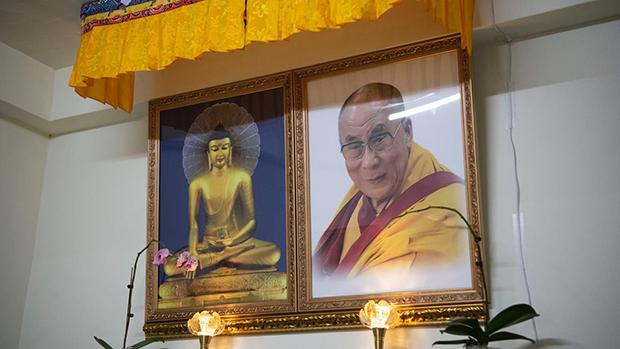 歷經六十餘年的流亡,已經八十五歲的達賴喇嘛仍是藏人們心中景仰的領袖。(攝影/楊子磊)