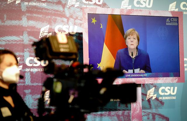欧洲与中国达成中欧投资协定,遭批评对中国侵害人权视而不见。(法新社)