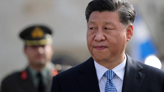 """学者指出,习近平说中国已经可以""""平视这个世界了"""",以及""""东升西降""""已成趋势的论调,都显示中国挑战美国地位的企图。(路透)"""