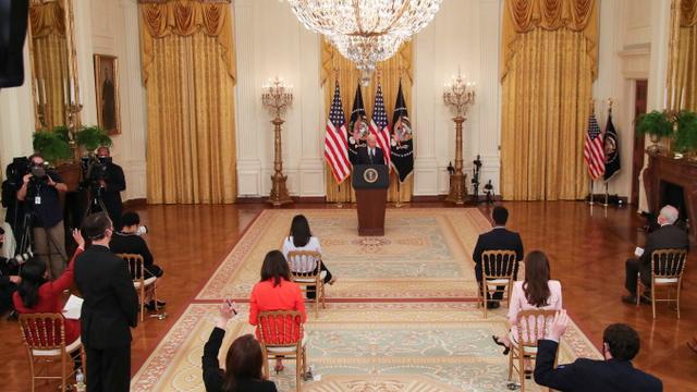 """拜登积极进行多边外交,突显""""美国回来了"""",盟友重新站队。(路透)"""