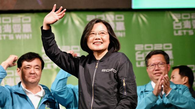 学者指出台湾实践民主,在华人世界提供一个可以替代共产制度的一个模式,不同于共产主义的另一种可能性,对中共是非常大的威胁。(法新社)