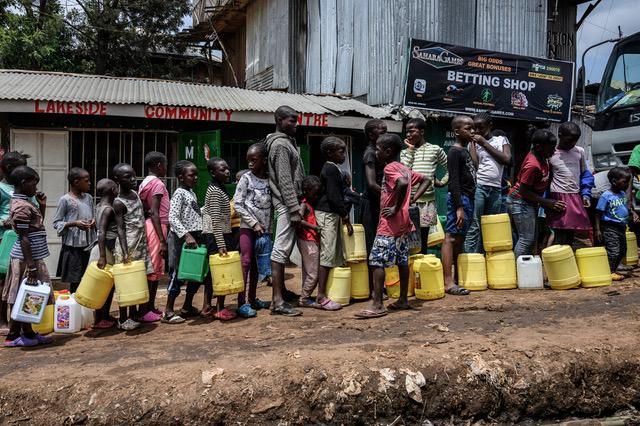 新冠肺炎疫情扩散全球造成极大损害,非洲国家向中国提出减免债务的要求。(法新社)