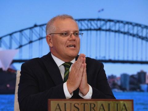 澳大利亚对于台海安全的关切升高,总理莫里森5月6日受访表示,澳大利亚政府对台湾政策坚定不变,如果中共武力犯台,澳大利亚将会履行支援美国及盟友的承诺。