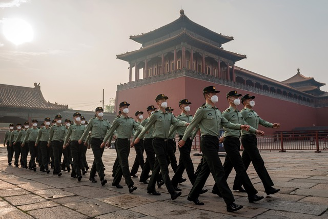 范畴认为中国取代了苏联,成为美国最大对手,再激烈下去就会成为美国最大的敌人。(法新社)