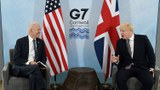 美國總統拜登出訪歐洲,和英國首相鮑里斯·約翰遜見面。