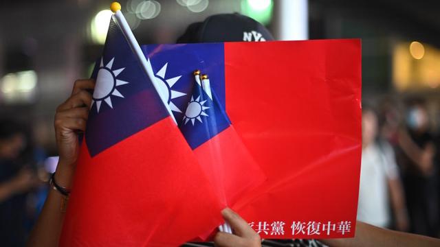 """""""中华民国在台湾""""已经形成最大共识。(法新社)"""