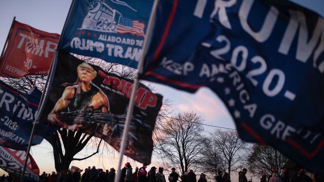 美国大选结果牵动全球局势,开票速度缓慢,全世界焦急难耐。(美联社)