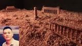 本節目華盛頓手記八九六四親歷口述人郭健及他的藝術裝置作品:碎肉末堆砌的天安門廣場。